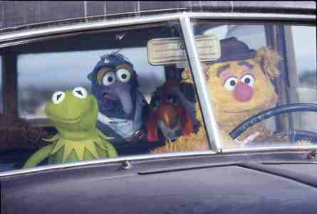 The Muppet Movie (1979) - Kermit, Fozzie, and Gonzo