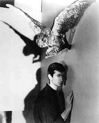 Anthony Perkins Psycho publicity still