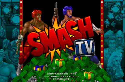 Smash TV Title Screen
