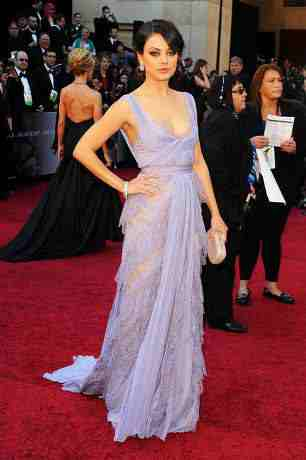 Mila Kunis Oscar dress 2011