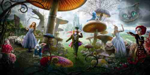 Alice in Wonderland 2010 still