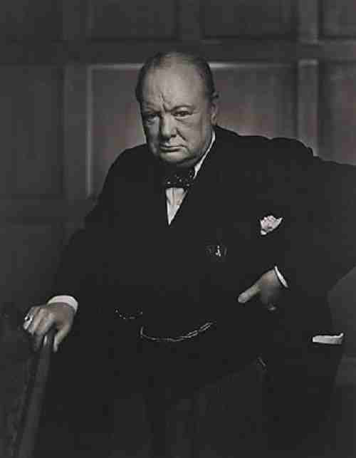 Sir Winston Churchill - 1941 portrait