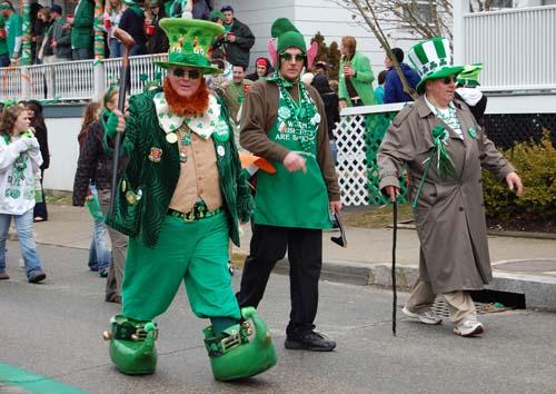 Leprechaun parade