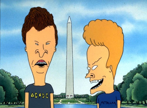 Beavis and Butt-Head Do America (1996, Mike Judge) - Washington Monument