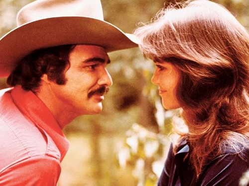 Smokey And The Bandit (1977) starring Burt Reynolds and Sally Field
