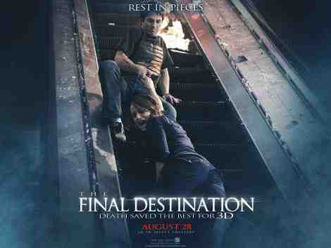 The Final Destination 3D - Poster