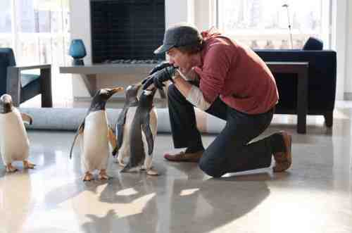 Mr. Popper's Penguins (2011 ) - Jim Carrey with penguins