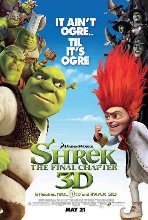 Shrek Forever After - Poster