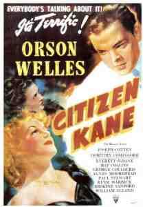 A Poster of Orson Welles' Citizen Kane (1941)