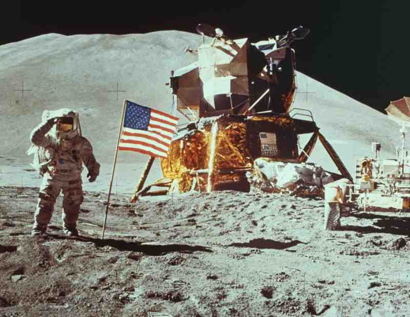 Photo from the Apollo 11 Mission