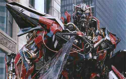 Leonard Nimoy as Sentinel Prime