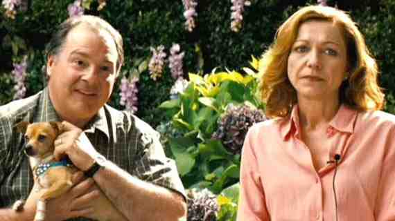 Kevin Dunn and Julie White as Sam's Parents