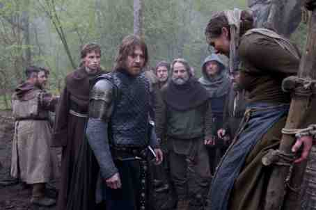 Black Death (2010) Sean Bean and Eddie Redmayne preside at a witch hunt