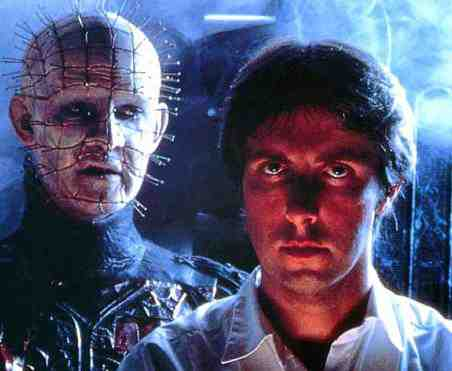 Hellraiser (1987) - Clive Barker and Doug Bradley on set