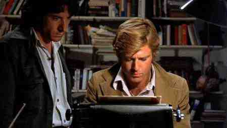 All The President's Men (1976) - Dustin Hoffman and Robert Redford