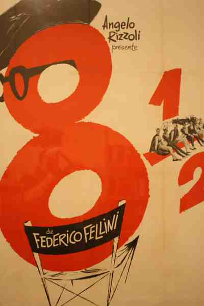 Poster for Fellini's 8 1/2