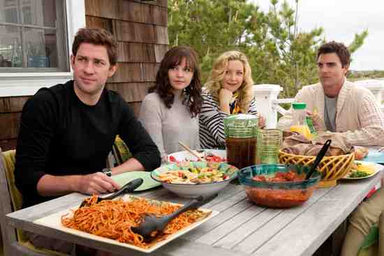 John Krasinski, Ginnifer Goodwin, Colin Egglesfield, and Kate Hudson in Something Borrowed