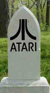 Gravestone of Atari