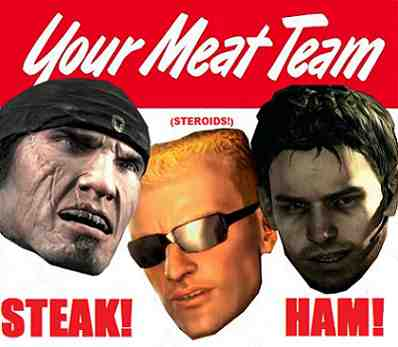Video Game Meathead Team