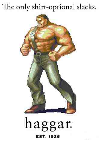 Mike Haggar Slacks