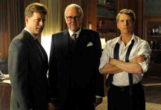 The Kennedys (ReelzChannel) - starring Greg Kinnear, Barry Pepper, Katie Holmes, and Tom Wilkinson
