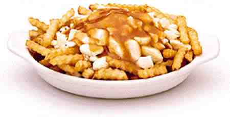 Poutine is kinda gross looking.