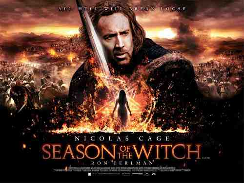 Season Of The Witch (2011) starring Nicolas Cage and Ron Perlman