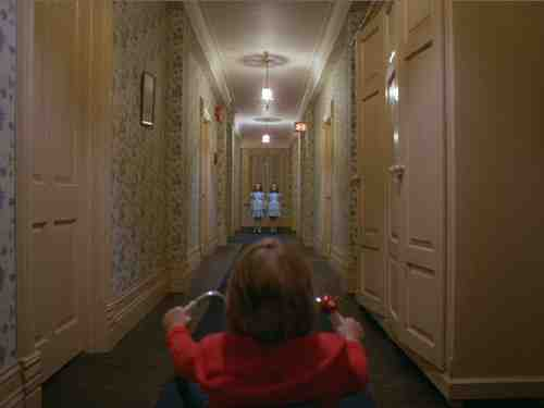 Danny Torrance (Daniel Lloyd) in The Shining