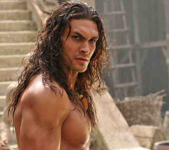Jason Momoa as Conan the Barbarian