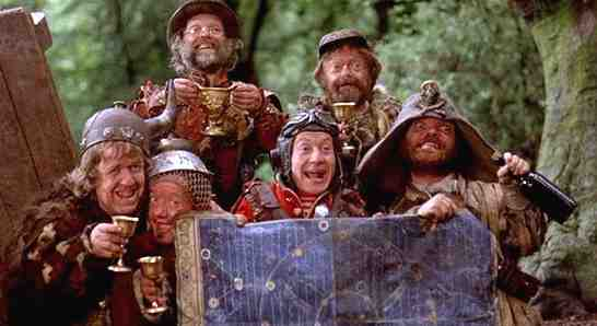 The Time Bandits from Terry Giliam's Film