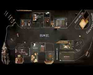 The Set of Lars Von Trier's Dogville