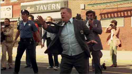 Charles Durning co-stars as a police negotiator in Dog Day Afternoon