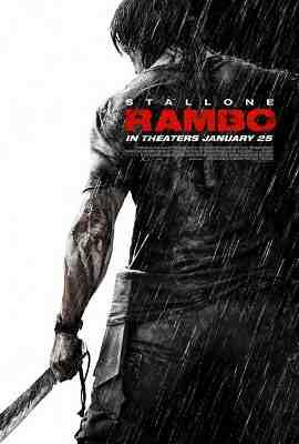 Rambo (2008) - Poster