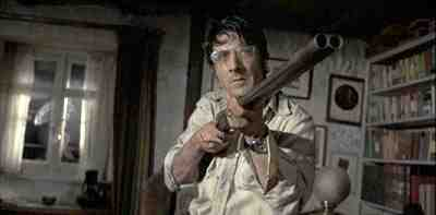 Dustin Hoffman stars in Sam Peckinpah's Straw Dogs