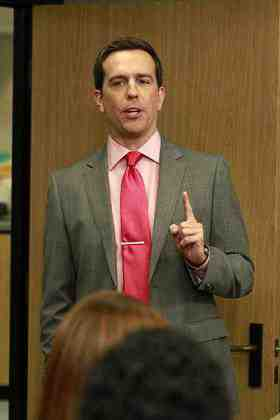 Ed Helms as Andy Bernard on The Office
