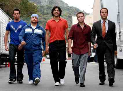 The Entourage from Entourage