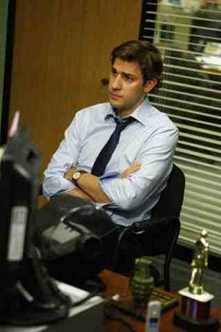John Krasinski as Jim Halpert from The Office