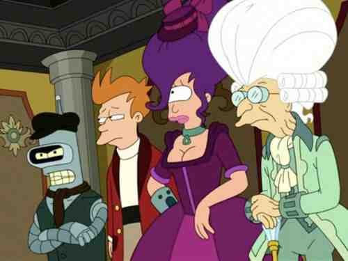 The Futurama Gang; Comedy Central Era