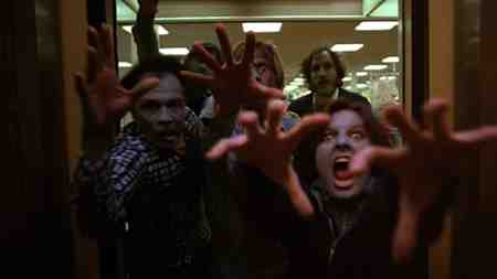 Zombies in Dawn Of The Dead