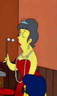 Offended Dowager Simpsons