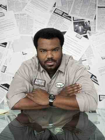 Craig Robinson as Darryl on The Office