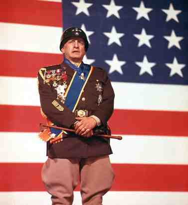 George C. Scott as Patton in Patton