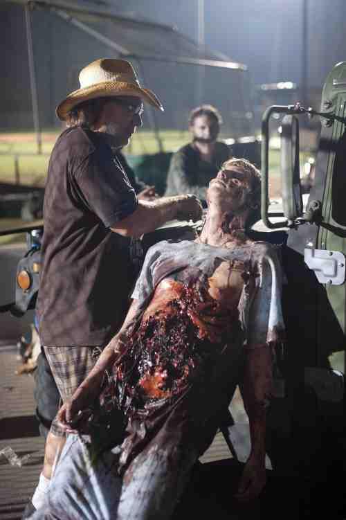 Nicotero gore Walking Dead
