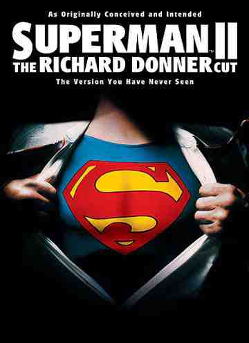 The Cover for Superman II: The Richard Donner Cut