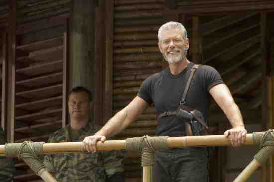 Stephen Lang as Captain Nathaniel Taylor in Terra Nova