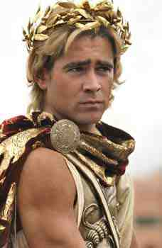Colin Farrell as Alexander the Great in Oliver Stone's Alexander