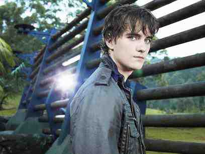 Landon Liboiron as Josh Shannon from Terra Nova