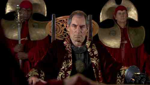Timothy Dalton as Rasillon in Doctor Who