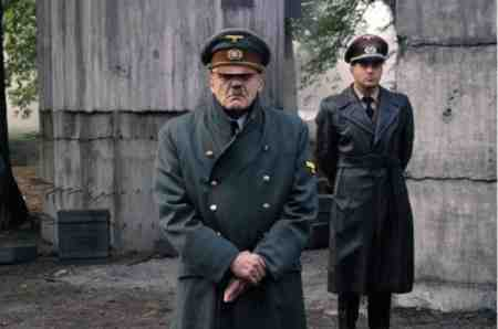 Bruno Ganz as Hitler in Downfall