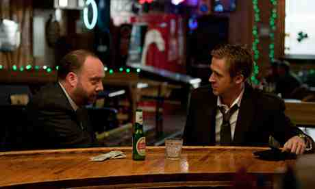 Ryan Gosling and Paul Giamatti in The Ides of March